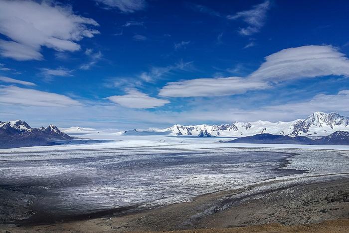 ledeniško polje Southern Patagonian ice field