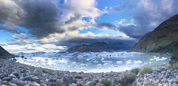laguna viedma z ledenimi gorami