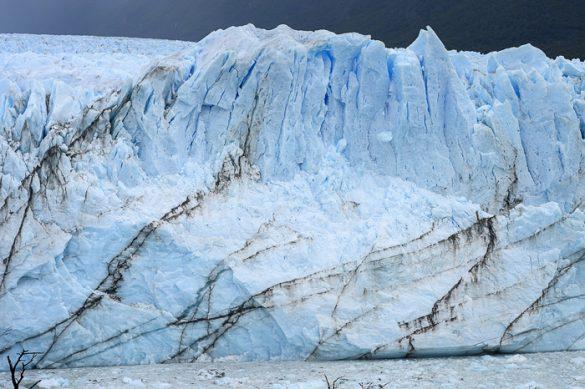 ledenik Perito moreno od blizu