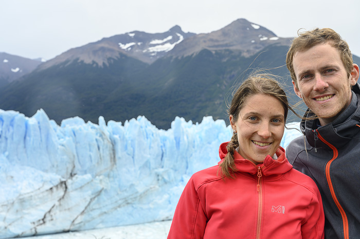 par pred ledenikom Perito Moreno