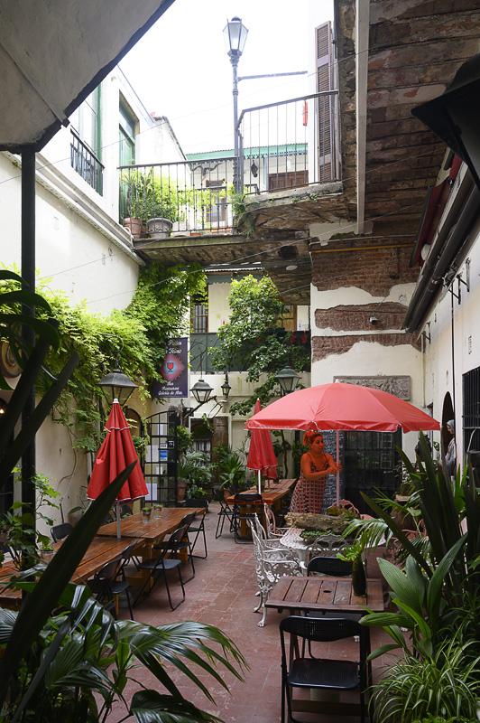 Notranje dvorišče v San Telmu