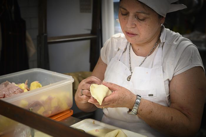 Ženska dela argentinsko empanado