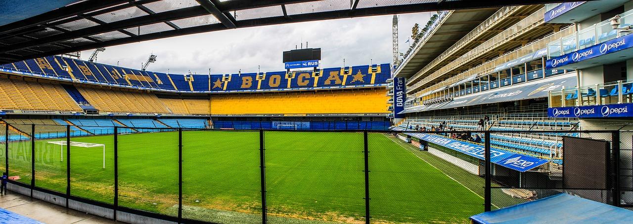 Stadion La Bombonera v Boci