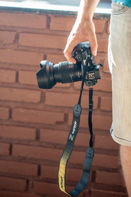 Nikon Z6 v roki fotografa
