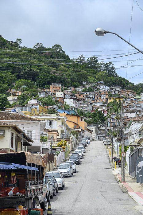 Favela v Florianopolisu
