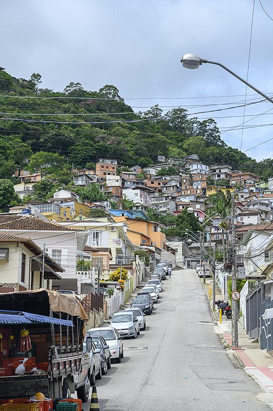 Favela v Florianopolisu.