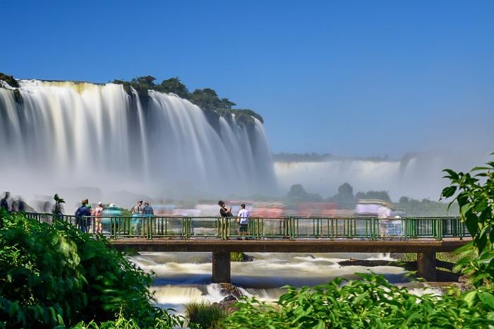 Garganta del Diablo slapovi Iguacu, Brazilija