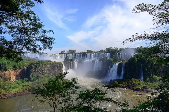 slapovi iguazu na argentinski strani