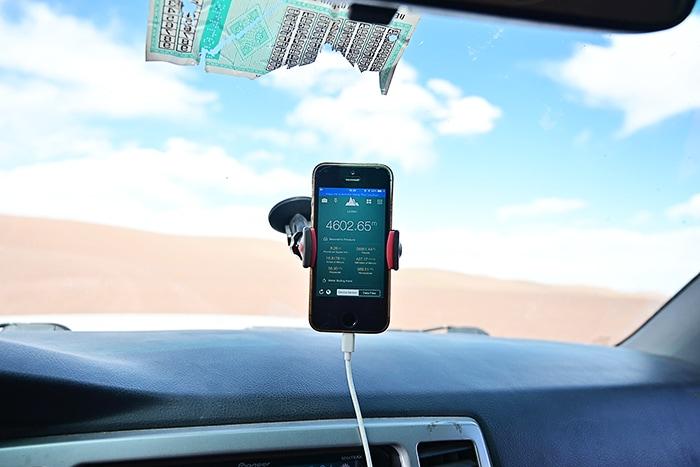 mobilni telefon kot navigacija