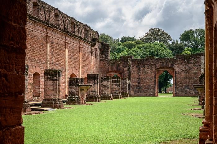 jezuitske ruševine misijona Jesus Tavarague