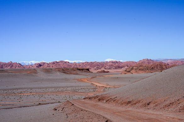 rjava puščava Desierto del Diablo