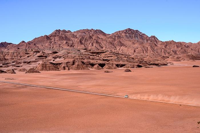 toyota prečka puščavo