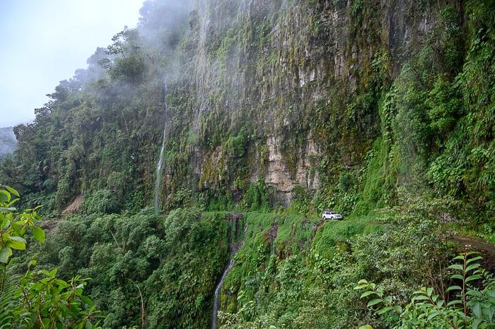 avto na cesti smrti, bolivija