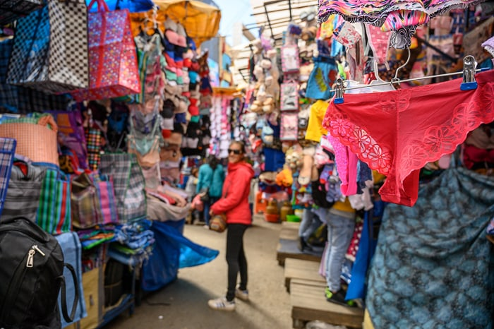 tržnica La Paz