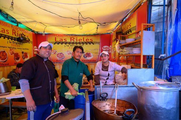 ulični kuharji v la pazu