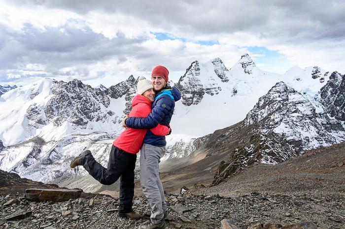 par na vrhu pico austria