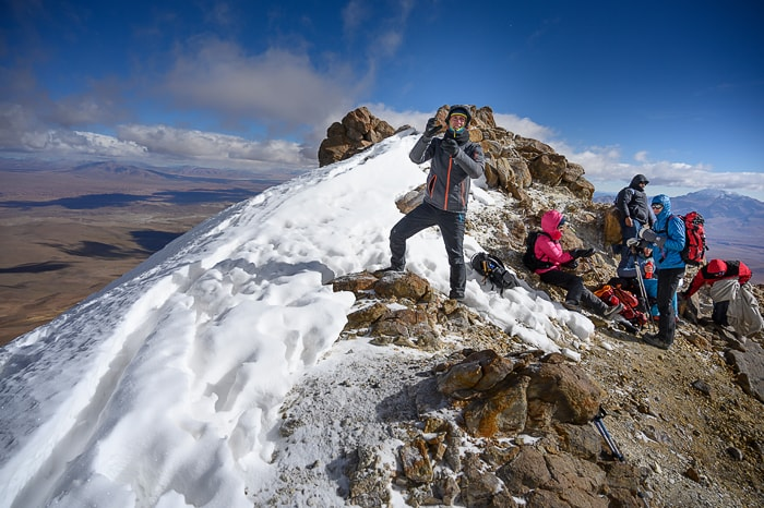 vrh vulkana Uturunku
