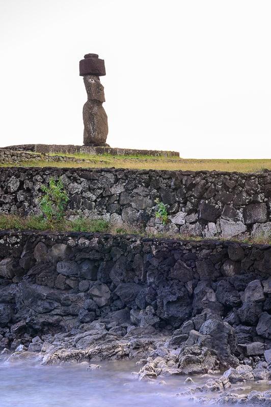 Moai Tahai s kapo