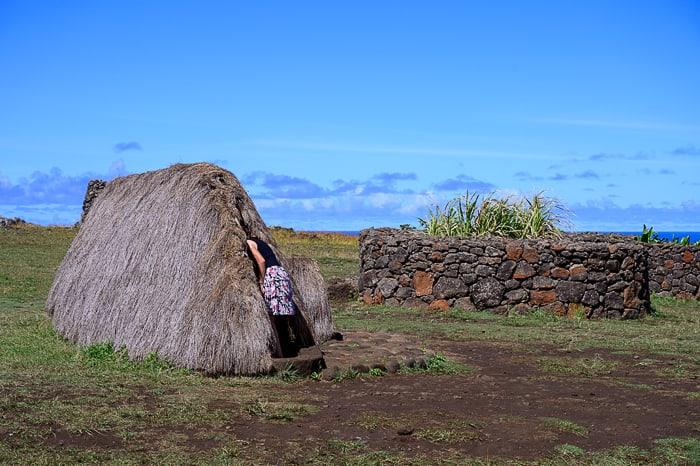 starodavna vas na Rapa Nui
