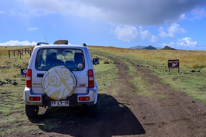 Nasveti za potovanje po Velikonočnem otoku: najem avtomobila