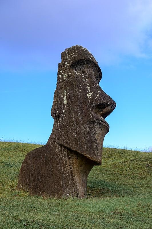 moai z velikonočnega otoka