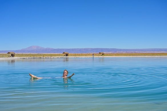 moški v Laguna Cejar