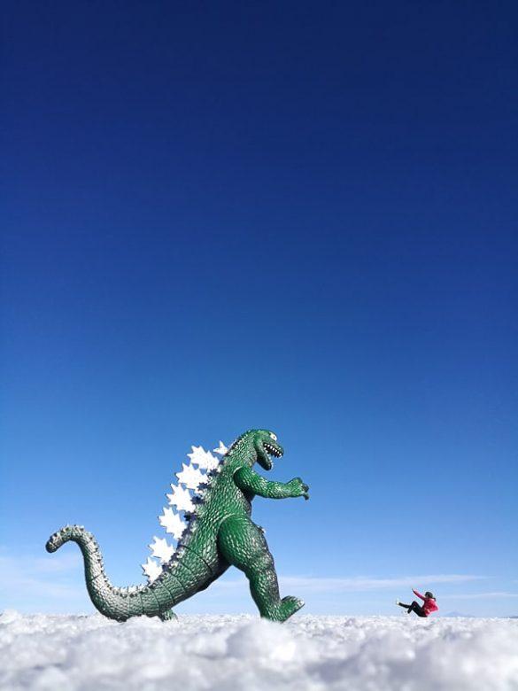 dinozaver v salar de uyuni