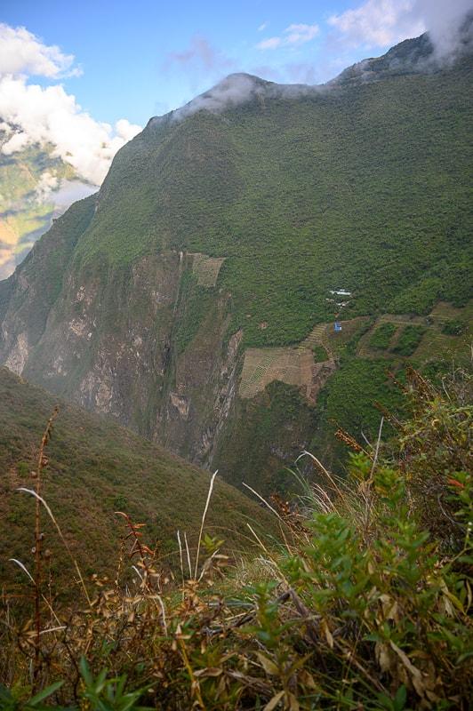 terase v Peruju