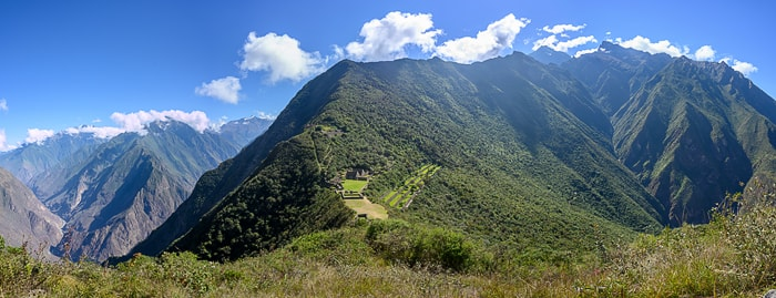 Choquequirao panorama