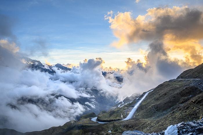 cesta na prelaz v Peruju