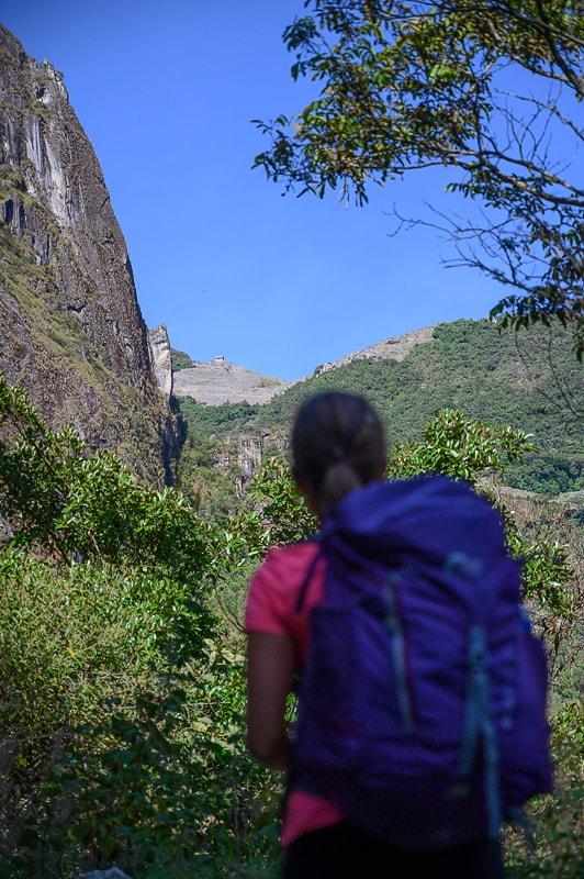 Pogled na Machu Picchu iz Santa Terese