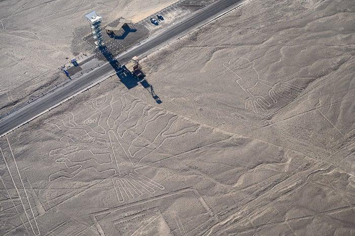 opazovalni stolp za Nazca lines