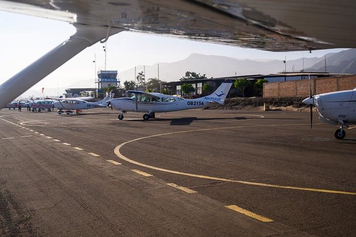 letalo za polet preko nazca lines