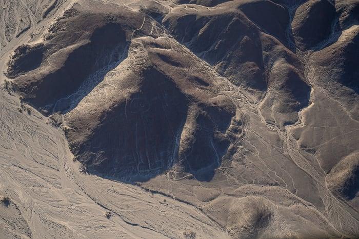 risba človeka nazca lines