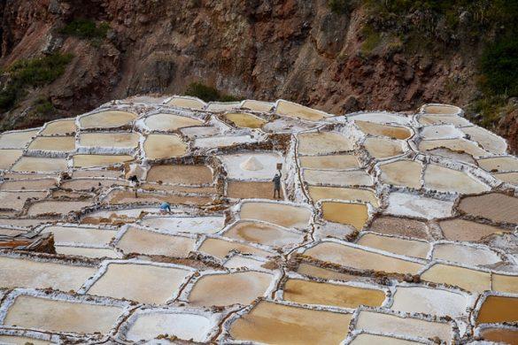soline maras, kristalizacijski bazenčki