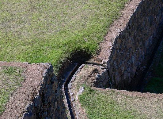 inkovski vodni kanal, Tipon