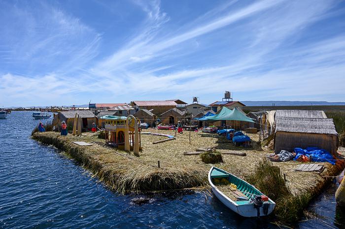 plavajoči otoki Uros