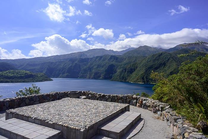 arheološki ostanki laguna cuicocha