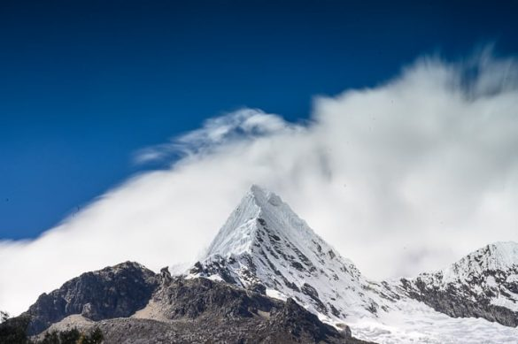 Nevado Piramide de Garcilaso.
