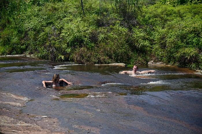par v bazenčkih Las Gachas
