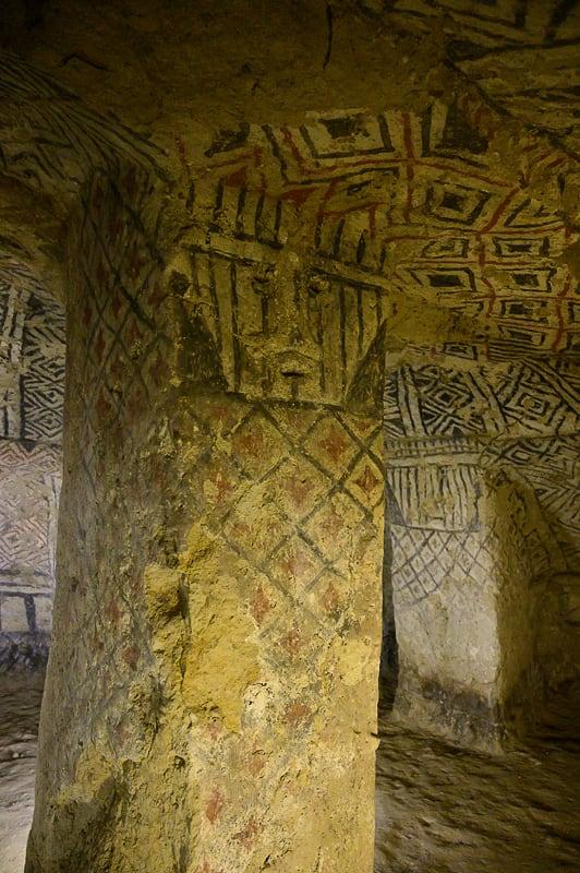 varuh grobnice Tierradentro