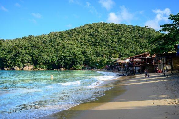 brazilska plaža Ubatuba