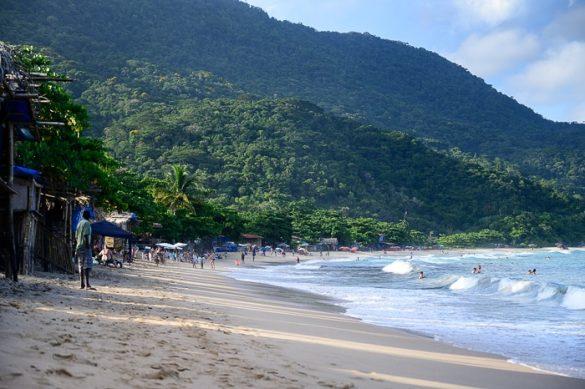plaža Ubatuba