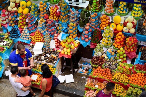 tržnica s sadjem, sao paulo