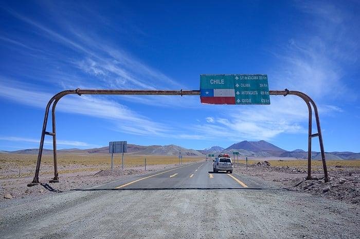 meja Čile - Argentina