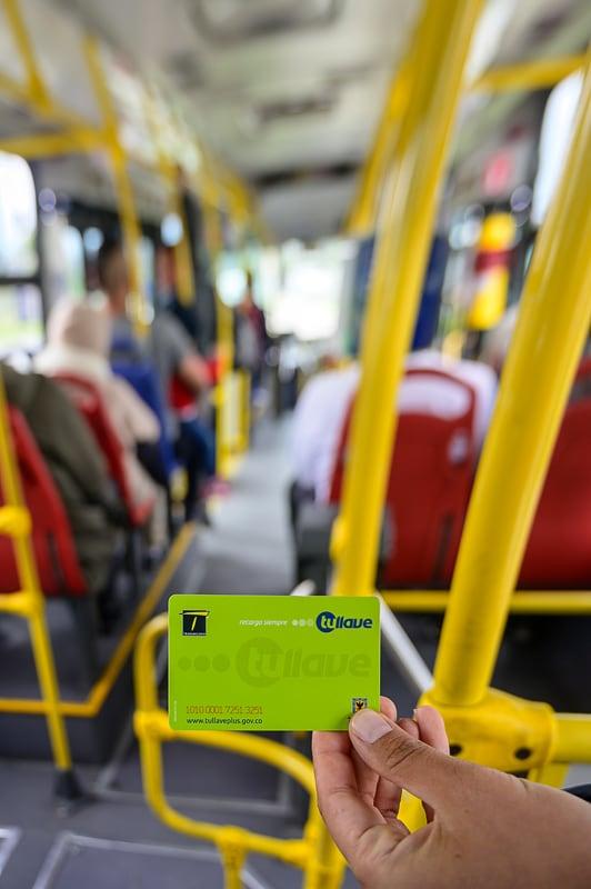 tullave kartica za prestop v Bogoti