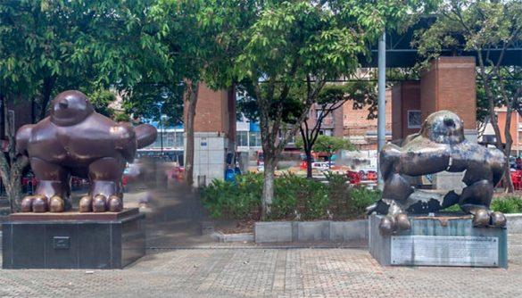Aves de la paz, Medellin