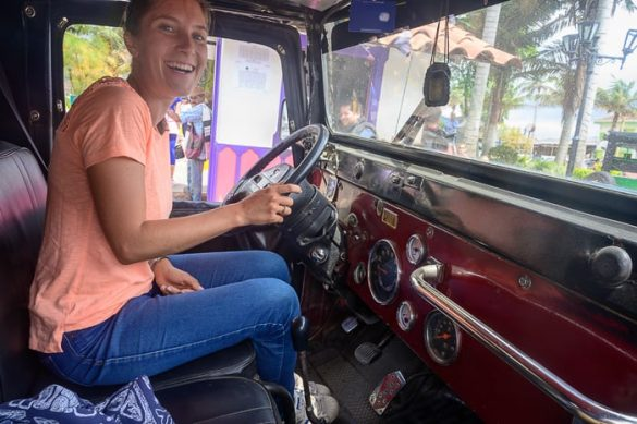 ženska za volanom