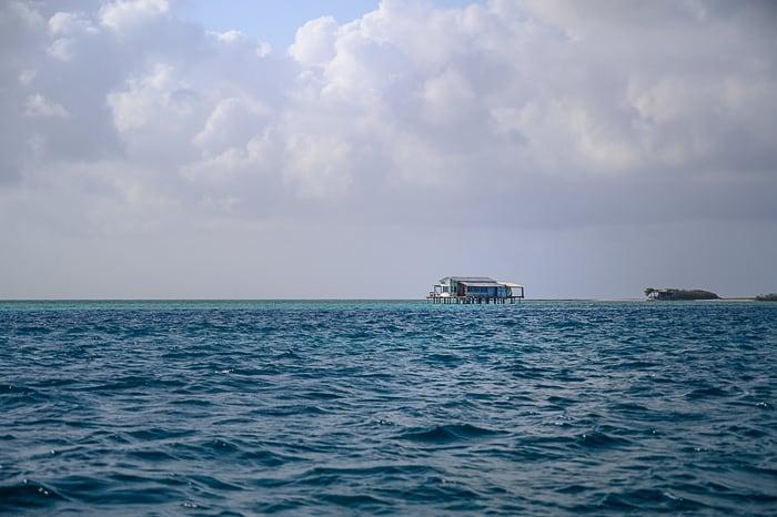 hiška na kolih na karibskem otočju
