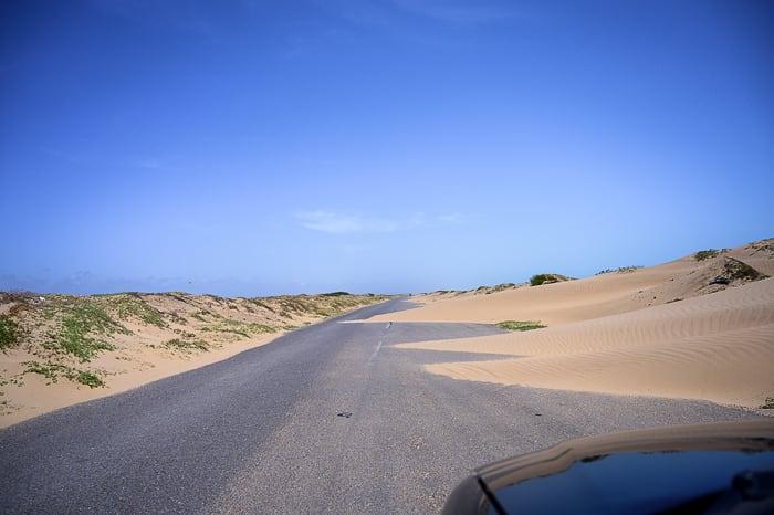sipine na cesti, Medanos de Coro Venezuela
